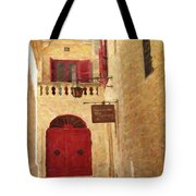 The Silent City Tote Bag