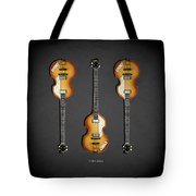 Hofner Violin Bass 62 Tote Bag
