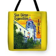 1915 San Diego Exposition Tote Bag