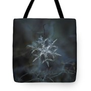 Snowflake Photo - Rigel Tote Bag