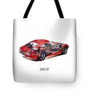 The Toyota 2000 Gt Tote Bag