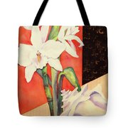 Orchid Medley Tote Bag