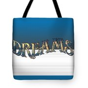 Sweet Dreams Part 2 20x14 Pillow Tote Bag