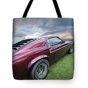 Rich Cherry - '69 Mustang Tote Bag