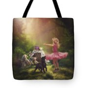 Dances In The Summer Tote Bag