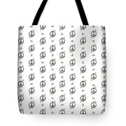 Peace And Daisies Tote Bag