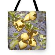 Lemons Purple Pastel Tote Bag