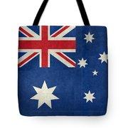 Australian Flag Vintage Retro Style Tote Bag