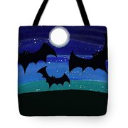 Bats At Night Tote Bag