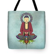 Electric Buddha Tote Bag