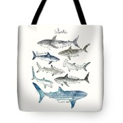 Sharks Tote Bag