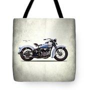 Harley Model Vd 1935 Tote Bag