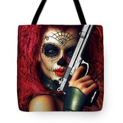 Sugar Doll Long Night Of The Dead Tote Bag