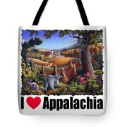 I Love Appalachia - Coon Gap Holler Country Farm Landscape 1 Tote Bag