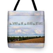 The Simpler Life Tote Bag