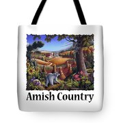 Amish Country - Coon Gap Holler Country Farm Landscape Tote Bag