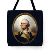 General Washington - Porthole Portrait  Tote Bag