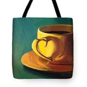 Yellow Java Tote Bag