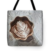 Morning Mocha Tote Bag