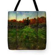 Into The Apple Orchard Tote Bag