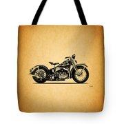 Harley Davidson Ulh 1941 Tote Bag
