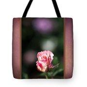 Romantic Rose Bud Tote Bag