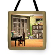 Country Dinning Tote Bag