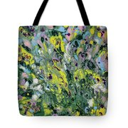 The Feeling Of Spring Tote Bag