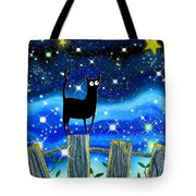 Paper Stars Tote Bag by Andrew Hitchen