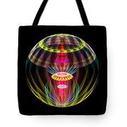 Alien Sphere Fractal Fantasy Tote Bag