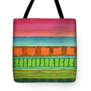 Sultry Day At The Seaside  Tote Bag