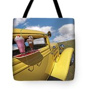 Deuce Coupe At The Drive-in Tote Bag