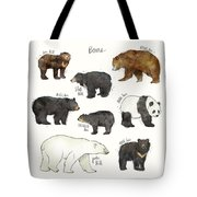 Bears Tote Bag