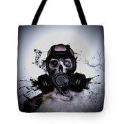 Zombie Warrior Tote Bag