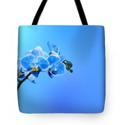 Orchid Blue Tote Bag