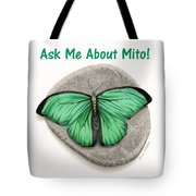 Ask Me About Mito T-shirt Or Tote Bag Tote Bag