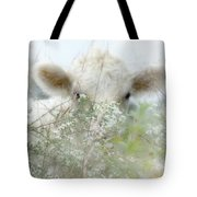 I See You - Sparkle Squares Tote Bag