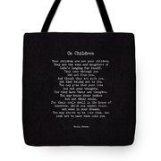 On Children Tote Bag