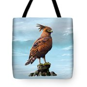 Long Crested Eagle Tote Bag