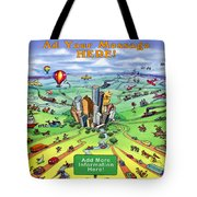 All Roads Lead To Houston Tote Bag