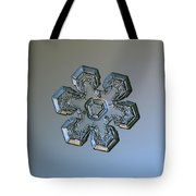 Snowflake Photo - Massive Silver Tote Bag by Alexey Kljatov