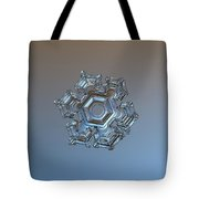 Snowflake Photo - Cold Metal Tote Bag by Alexey Kljatov