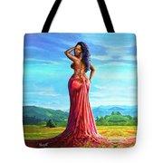 Summer Blossom Tote Bag