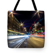 Light Trails 2 Tote Bag