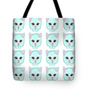 Miss Kitty - Cute Cat Tote Bag