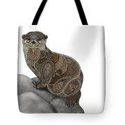 Otter Tangle Tote Bag