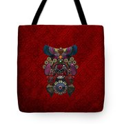 Chinese Masks - Large Masks Series - The Demon Tote Bag