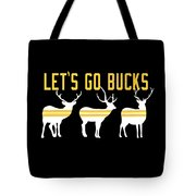 Pirates - Pittsburgh - Let's Go Bucks Tote Bag