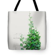 Vines By The Wall Tote Bag