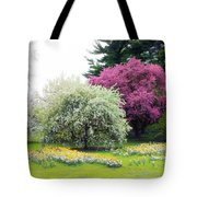 Muted Meadow Tote Bag